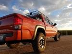 N-FAB Tacoma Double Cab RKR-Rails with Detachable Step Option