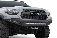 2014 - 2020 Toyota Tundra Honeybadger Rear Bumper W/ Backup Sensor Cutouts