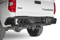 2014 - 2017 Toyota Tundra Venom Rear Bumper with Dually mounts in Hammer Black