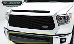 T-REX Tundra Billet Grille, Bumper, Overlay, 1 Pc, Black Powdercoated Aluminum Bars